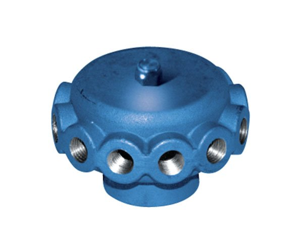 liquid manifold with 12 outlets