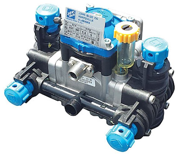 Poly-diaphragm pump